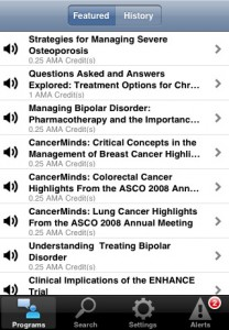 Reach MD iPhone Application