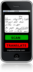 Scribble Doc iPhone Application